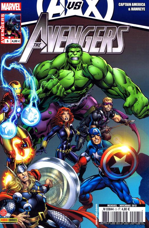 The Avengers (revue) – V 3, T5 : Douche froide (0), comics chez Panini Comics de Guggenheim, Bendis, Bunn, Brubaker, Zircher, Bagley, Vitti, Wilkins, Simonson, Parillo, Keith, Tartaglia, Mounts