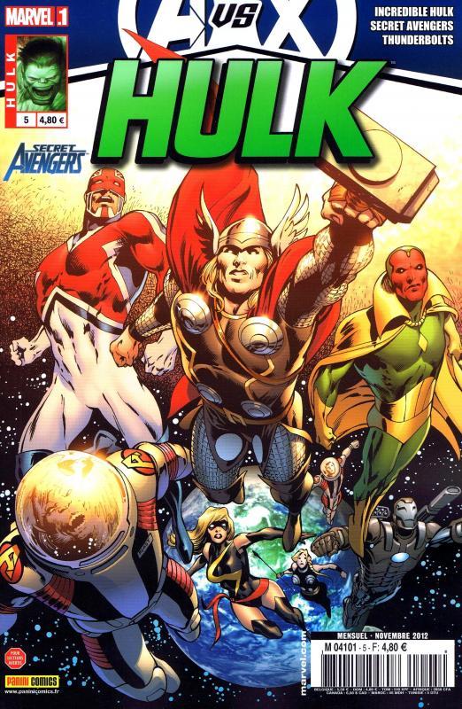 Hulk – Revue V 2, T5 : Opération Phénix (0), comics chez Panini Comics de Remender, Aaron, Parker, Casagrande, Hardman, Walker, Palo, Guedes, Pallot, Breitweiser, Martin, Rosenberg, Wilson, Davis