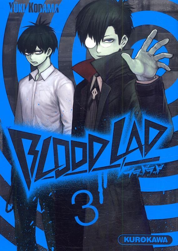 Blood lad T3, manga chez Kurokawa de Kodama