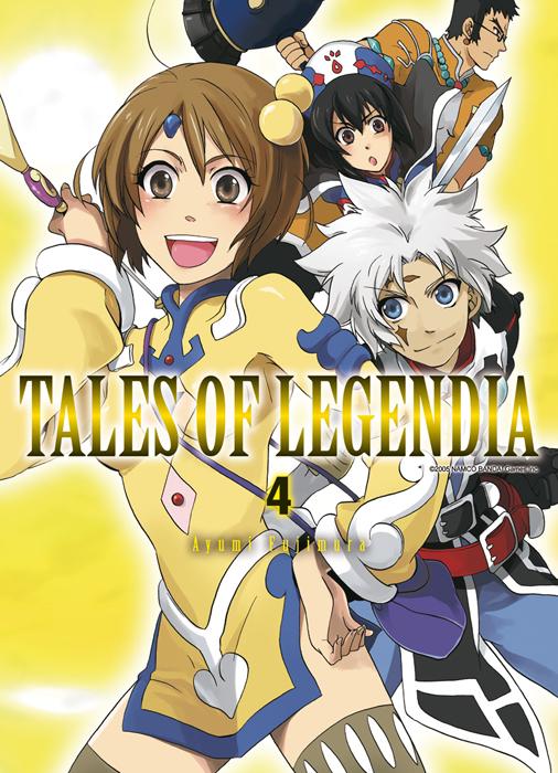 Tales of legendia T4, manga chez Ki-oon de Fujimura