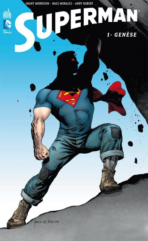 Superman T1 : Genèse (0), comics chez Urban Comics de Morrison, Fisch, Chriscross, Ha, Walker, Anderson, Kubert, Rags, Lyon, Villarubia, Ramos, Curiel, Anderson