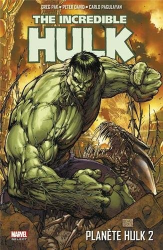 The Incredible Hulk T2 : Planète Hulk (2/2) (0), comics chez Panini Comics de David, Pak, Lopresti, Raiz, Pagulayan, Frank, Muniz, Nelson, Studio Impacto