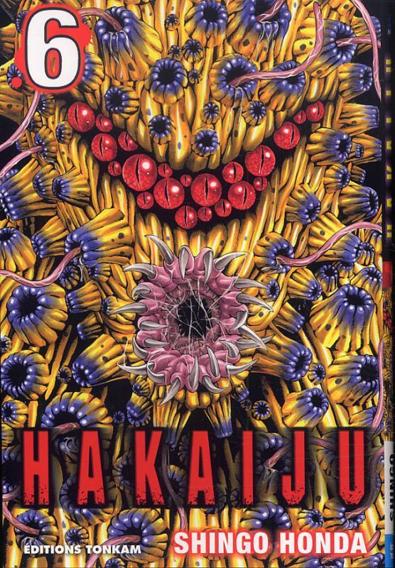 Hakaiju T6, manga chez Tonkam de Honda