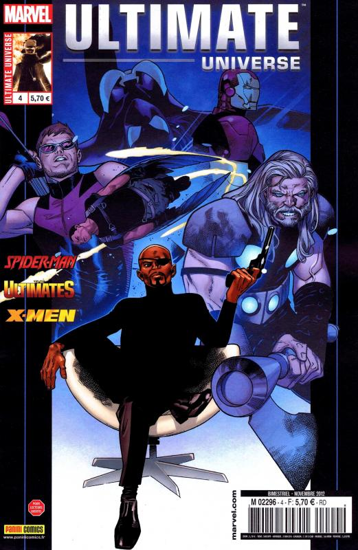Ultimate Universe T4 : Le Dieu révélé (0), comics chez Panini Comics de Spencer, Hickman, Bendis, Samnee, Ribic, Pichelli, Barbieri, Gracia, Ponsor, White, Coipel