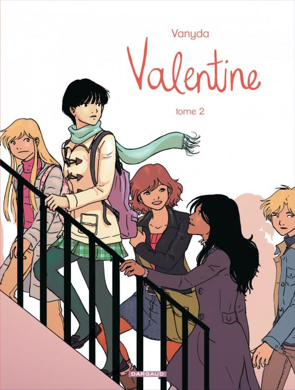 Valentine T2, bd chez Dargaud de Vanyda
