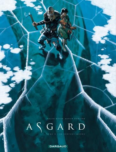 Asgard T2 : Le serpent-monde (0), bd chez Dargaud de Dorison, Meyer, Delabie