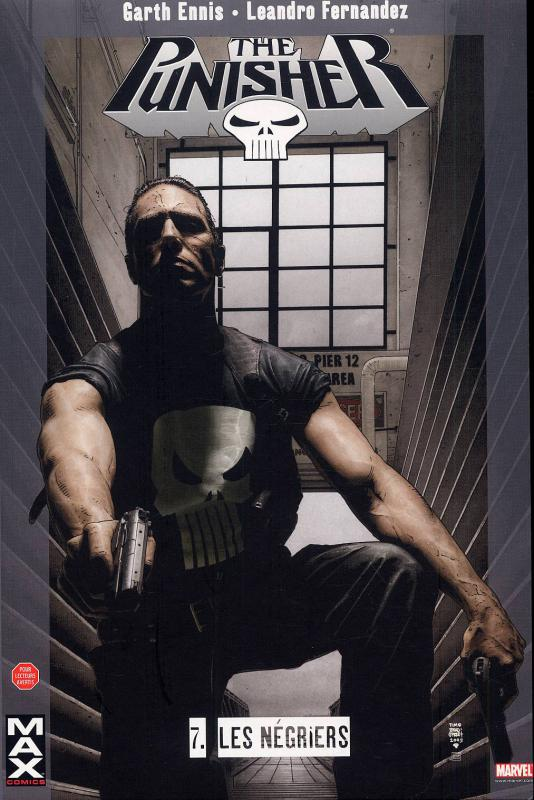 The Punisher – Max Comics, T7 : Les négriers (0), comics chez Panini Comics de Ennis, Fernandez, Koblish, Brown, Bradstreet