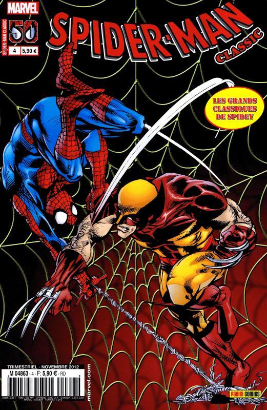Spider-Man Classic T4 : Marée haute (0), comics chez Panini Comics de Golden, Stern, Mantlo, Owsley, Lee, Frenz, Andru, Austin, Bright, Scheele, Scotese