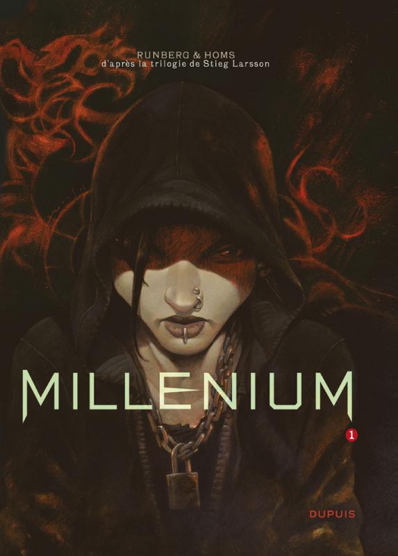 Millénium – cycle 1, T1 : Les hommes qui n'aimaient pas les femmes (première partie) (0), bd chez Dupuis de Runberg, Homs