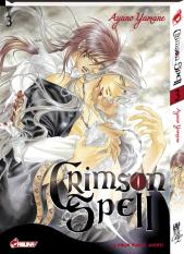 Crimson spell  T3, manga chez Asuka de Yamane