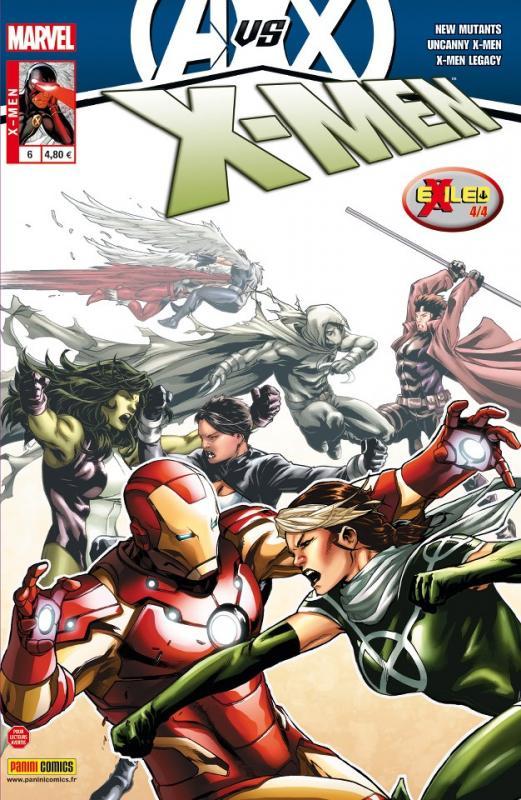 X-Men (revue) – V 3, T6 : La peur de l'avenir (0), comics chez Panini Comics de Gillen, Lanning, Abnett, Gage, Di Giandomenico, Sandoval, Land, Fernandez, Guru efx, Sotomayor, Staples, Troy, Rosenberg, Brooks