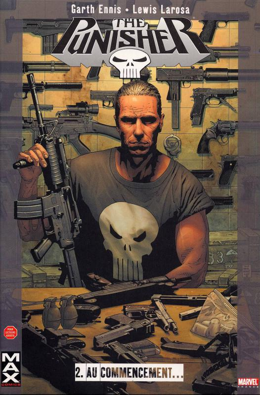 The Punisher – Max Comics, T2 : Au commencement... (0), comics chez Panini Comics de Ennis, Larosa, Palmer, White, Bradstreet