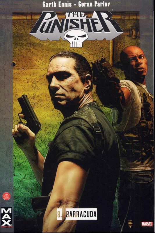 The Punisher – Max Comics, T8 : Barracuda (0), comics chez Panini Comics de Ennis, Parlov, Brusco, Bradstreet