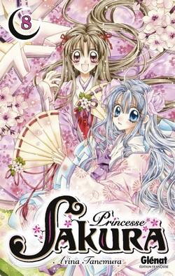 Princesse Sakura T8, manga chez Glénat de Tanemura