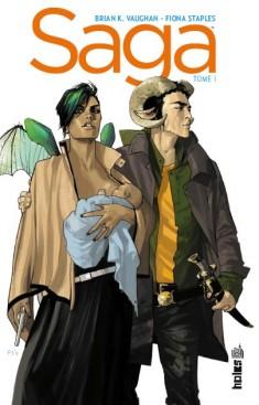 Saga T1, comics chez Urban Comics de Vaughan, Staples