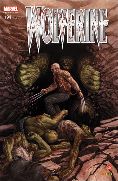 Wolverine (revue) – Revue V 1, T194 : Old Man Logan (8) (0), comics chez Panini Comics de Millar, Yost, Turnbull, McNiven, Hollowell, Sotelo