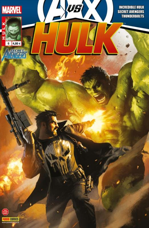 Hulk – Revue V 2, T6 : L'incident (0), comics chez Panini Comics de Parker, Aaron, Remender, Walker, Casagrande, Dillon, Pallot, Guedes, Breitweiser, Curiel, Martin jr, Wilson, Komarck