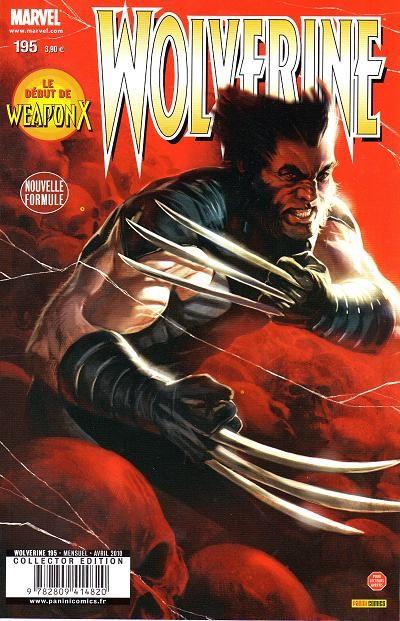 Wolverine (revue) – Revue V 1, T195 : Les hommes d'adamantium (1) (0), comics chez Panini Comics de Aaron, Garney, Keith, Djurdjevic