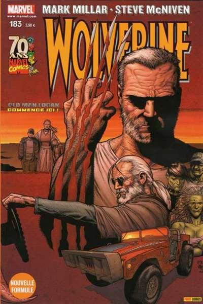 Wolverine (revue) – Revue V 1, T183 : Old Man Logan (1/8) (0), comics chez Panini Comics de Millar, Way, Dillon, McNiven, Milla, Hollowell, Avalon studios