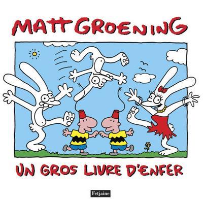 Un gros livre d'enfer, comics chez Fetjaine de Groening