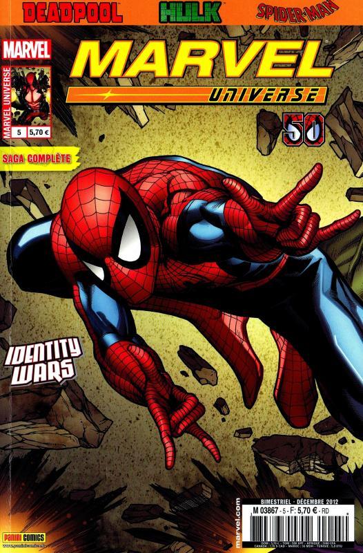 Marvel Universe – V 2, T5 : La guerre des identités (0), comics chez Panini Comics de Moore, Layman, Garbett, Crystal, Barrionuevo, d' Auria, Rauch, McNiven
