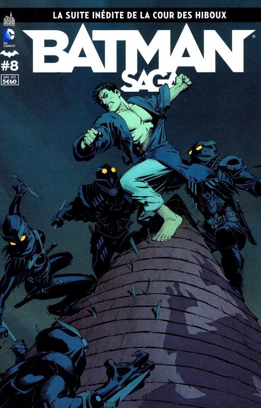 Batman Saga T8, comics chez Urban Comics de Simone, Tynion IV, Daniel, Tomasi, Snyder, Gomez, Syaf, Glapion, Martinez, Capullo, Albuquerque, Kudranski, Gleason, Cifuentes, FCO Plascencia, Kalisz, Morey, Major, Arreola