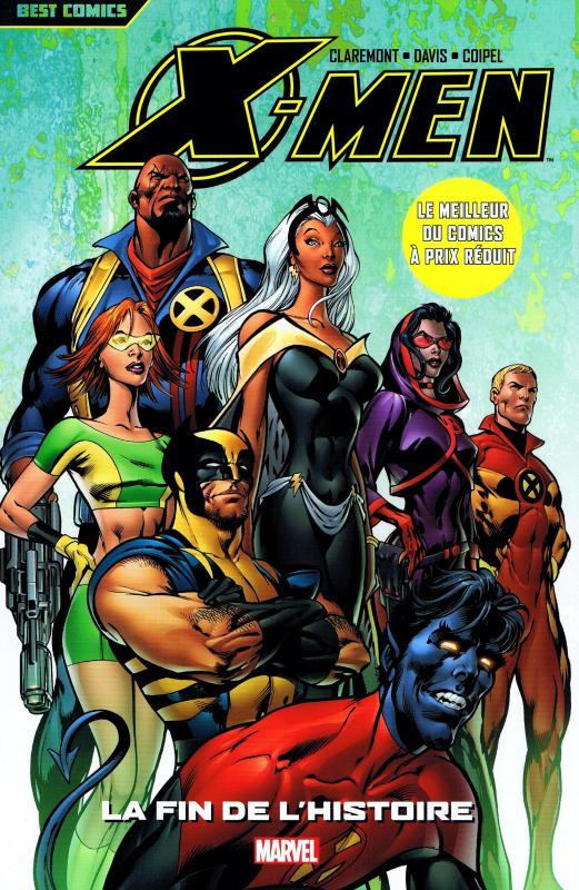 X-Men - Best comics T3 : La fin de l'histoire (0), comics chez Panini Comics de Claremont, Coipel, Davis, Chuckry, d' Armata