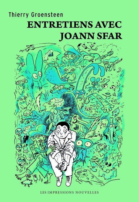 Entretiens avec Joann Sfar, bd chez Les Impressions Nouvelles de Groensteen, Sfar