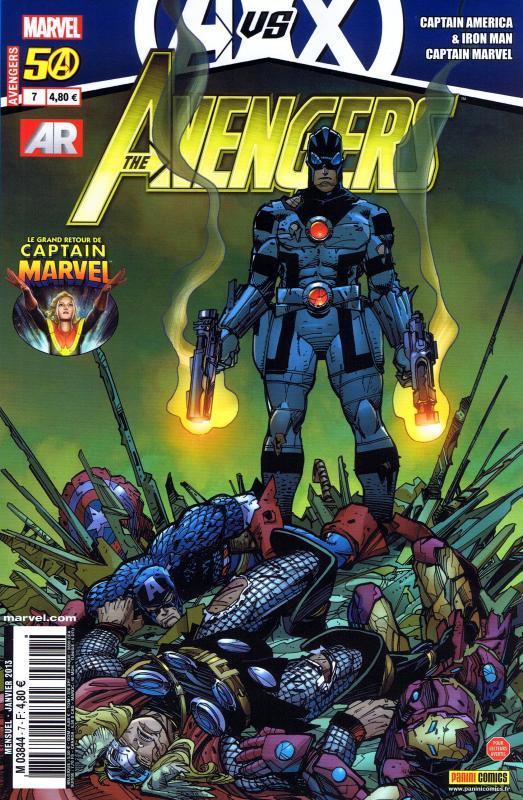 The Avengers (revue) – V 3, T7 : Des trous dans le ciel (0), comics chez Panini Comics de Bendis, Deconnick, Bunn, Brubaker, Zircher, Soy, Bagley, Simonson, Kitson, Keith, Tartaglia, Mounts