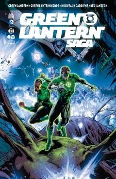 Green Lantern Saga T8, comics chez Urban Comics de Bedard, Tomasi, Johns, Milligan, Kirkham, Pasarin, Mahnke, Guinaldo, Jimenez, Ruffino, Sinclair, Eltaeb, Eyring, Keown