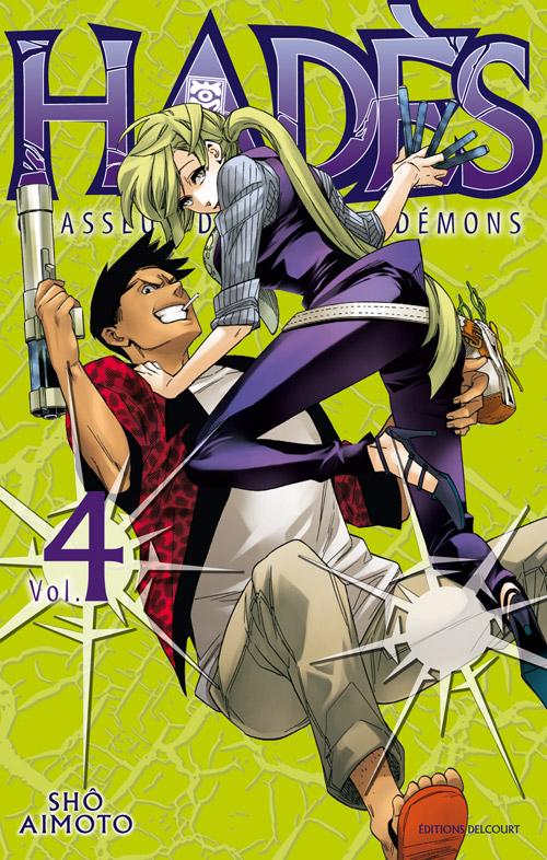 Hadès chasseur de psycho-démons T4, manga chez Delcourt de Aimoto