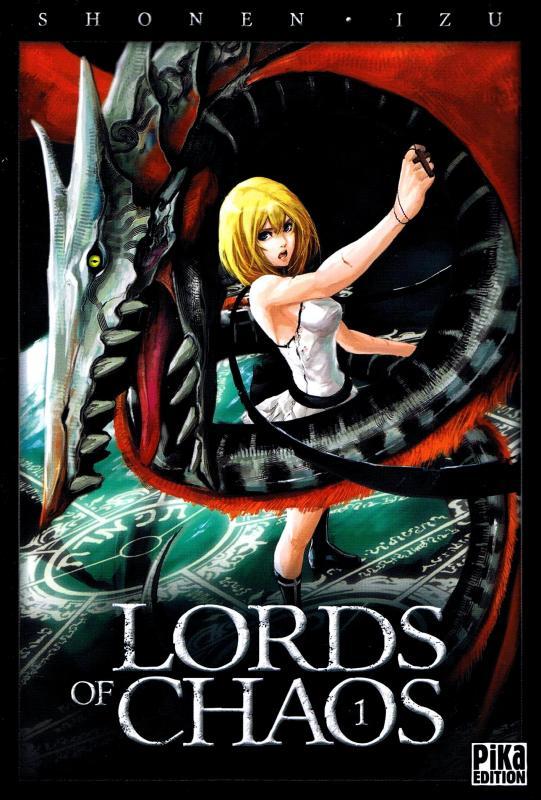 Lords of chaos T1, manga chez Pika de Izu, Shonen