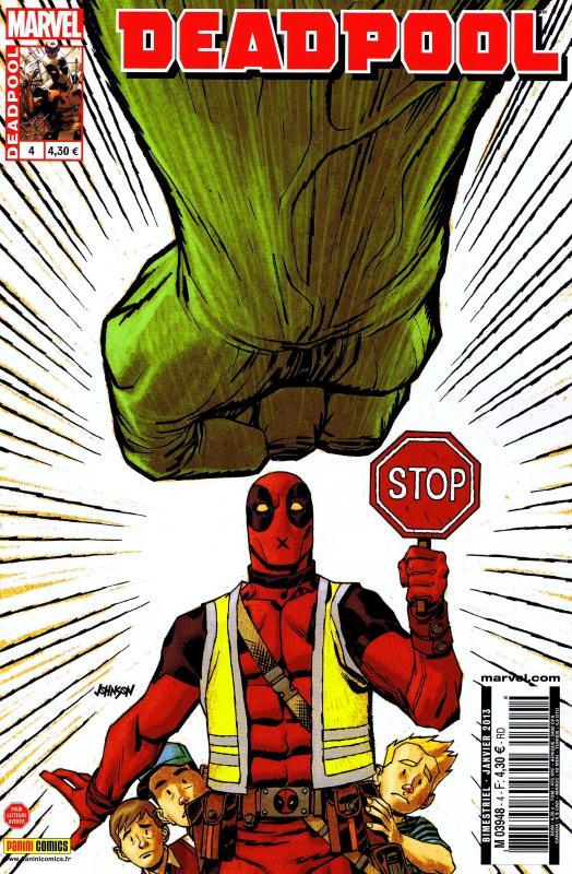 Deadpool (revue) – V 3, T4 : Interné (0), comics chez Panini Comics de Way, Barbieri, Dazo, Mossa, Daniel, Johnson