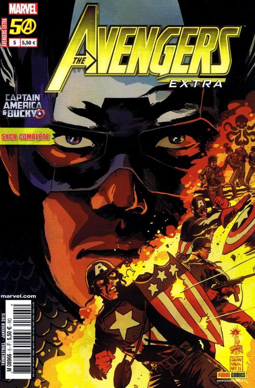 Avengers Extra T5 : Blessures de guerre (0), comics chez Panini Comics de Brubaker, Benson, Asmus, Bunn, Francavilla, Latour, Grist, Renzi, Loughridge
