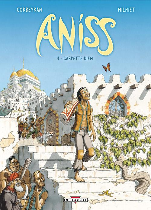 Aniss T1 : Carpette diem (0), bd chez Delcourt de Corbeyran, Milhiet