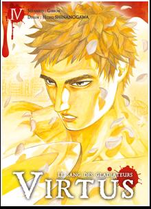 Virtus - le sang des gladiateurs T4, manga chez Ki-oon de Gibbon, Shinanogawa