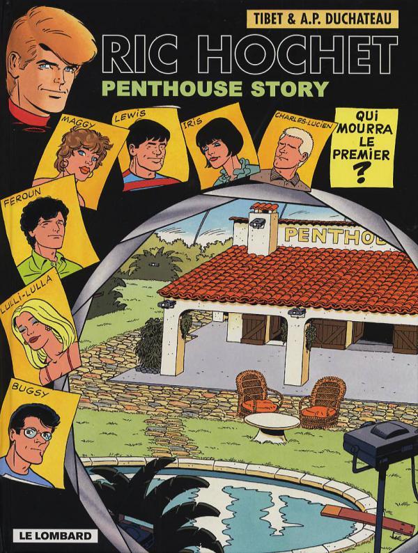 Ric Hochet T66 : Penthouse Story (0), bd chez Le Lombard de Duchateau, Tibet, Brichau