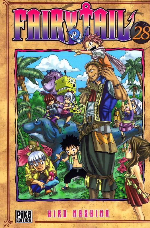 Fairy Tail T28, manga chez Pika de Mashima