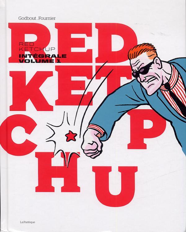 Red Ketchup T1, bd chez La pastèque de Godbout, Fournier