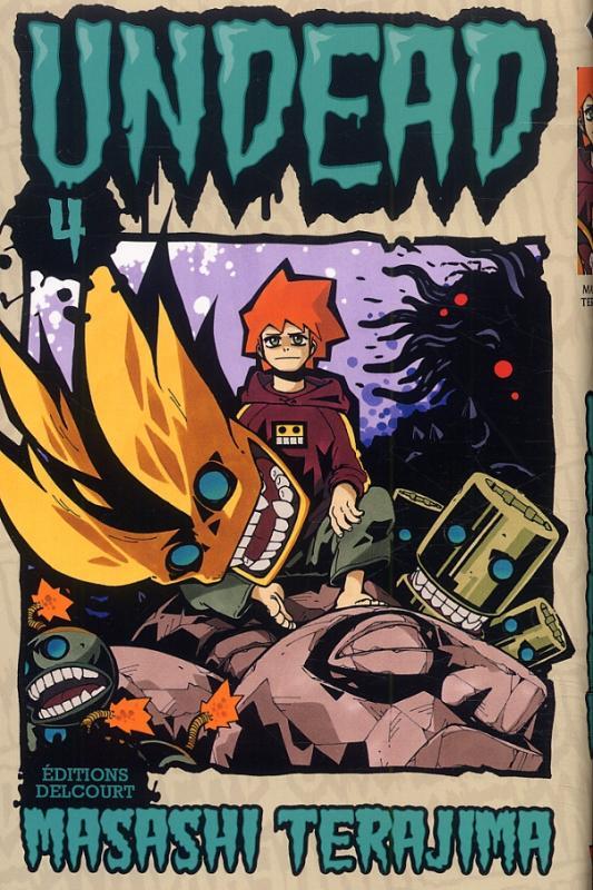 Undead T4, manga chez Delcourt de Terajima
