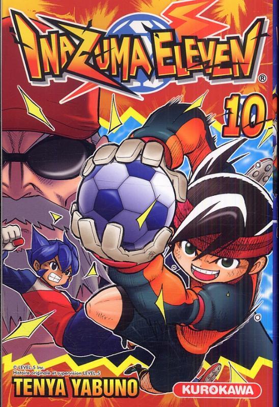 Inazuma eleven T10, manga chez Kurokawa de Yabuno