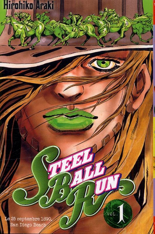 Steel ball run T1, manga chez Tonkam de Araki