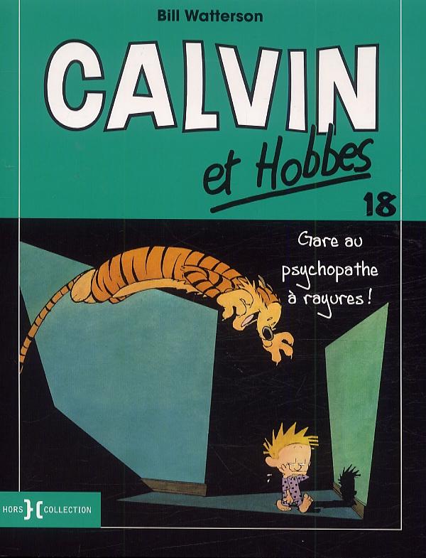 Calvin et Hobbes T18, comics chez Hors Collection de Watterson