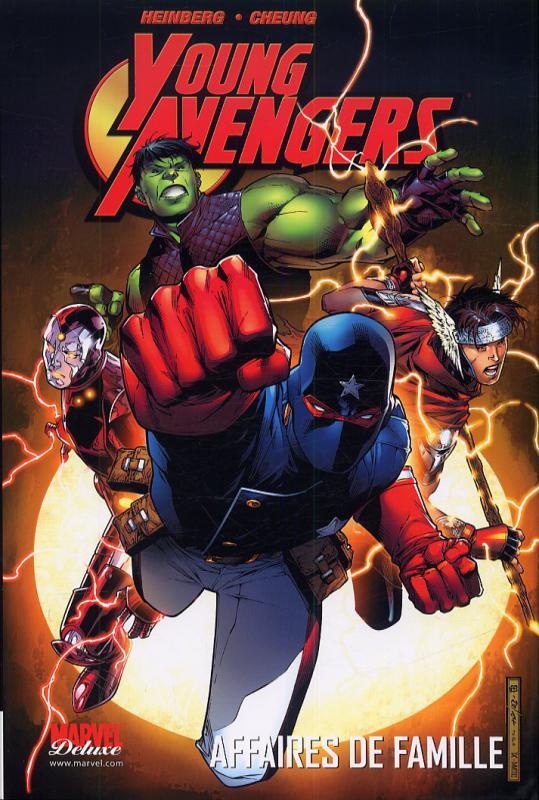 Young Avengers T1 : Affaires de famille (0), comics chez Panini Comics de Heinberg, Ha, Cheung, Sienkiewicz, Adams, Lee, Ferry, Gaydos, Di Vito, Lyon, McCaig, Chung, Villarubia, Ponsor