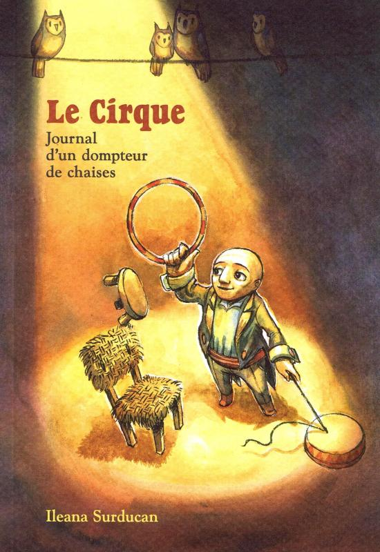 Le Cirque, bd chez Makaka éditions de Surducan