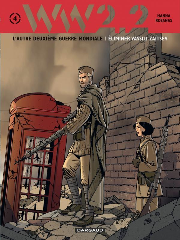 WW2.2 T4 : Eliminer Vassili Zaitsev (0), bd chez Dargaud de Hanna, Rosanas