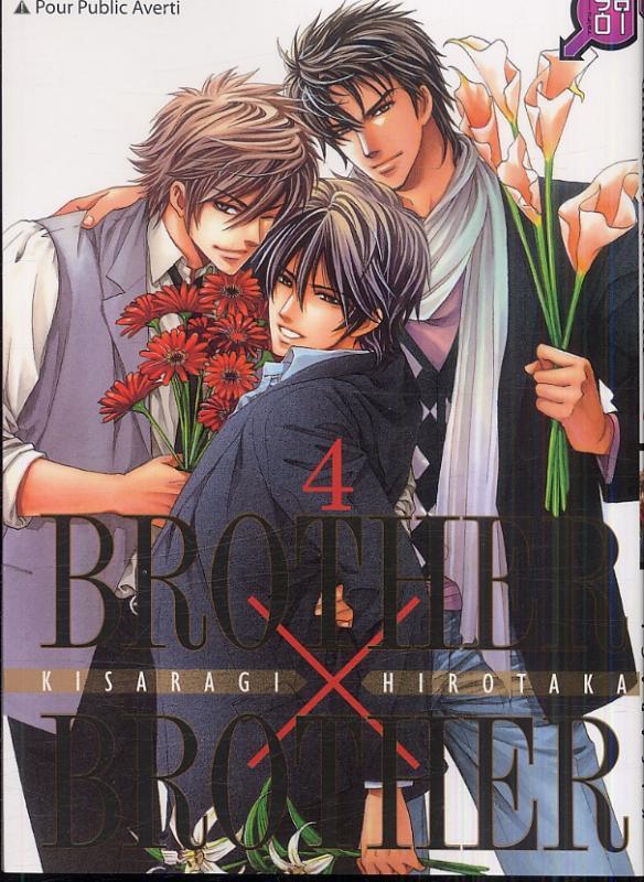 Brother x brother T4, manga chez Taïfu comics de Kisaragi