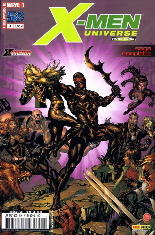 X-Men Universe – Hors série, T4 : Bain de sang (0), comics chez Panini Comics de David, Kirk, De Landro, Milla, Cox, Yardin