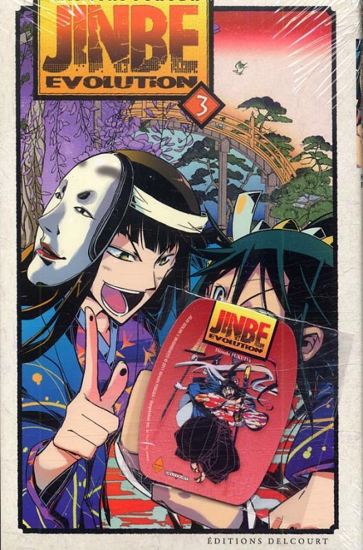 Jinbe evolution T3, manga chez Delcourt de Fukuda