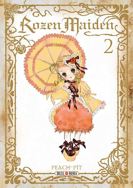 Rozen maiden – Saison 1, T2, manga chez Soleil de Peach-Pit